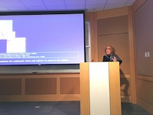 Dr. Elaine Fuchs was selected by the students to present her research here.