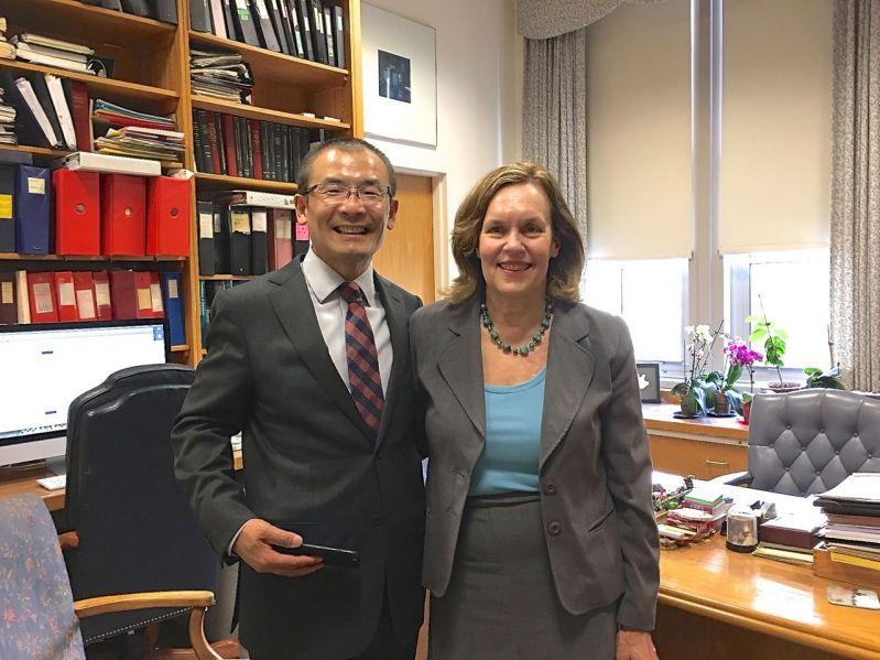 Dr. Jian and Dr. Gudas