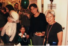 Students and faculty enjoy Holiday Party 2006.