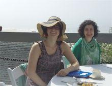Lisa Standke and Postdoc from MSKCC
