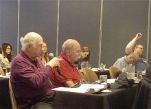 Dr. Charles Inturrisi, Dr. Gavril Pasternak, Dr. Miklos Toth, and Dr. Lonny Levin