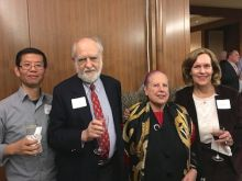 Dr. Xiao Han-Tang, Drs. Roberto and Patrizia Levi and Dr. Lorraine Gudas