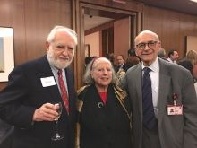 Drs. Roberto and Patrizia Levi and Dr. Jack Barchas