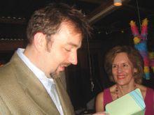 Drs. Geoff Abbott and Lorraine Gudas
