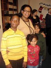 Kerry Victor and her children Michael, Kristen and Gabrielle