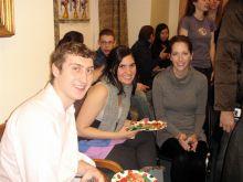 Tom Bruno, Drs. Frances Gratacos and Alison Urvalek