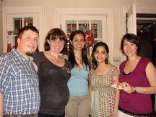 Marek and Kasia Marcinkiewicz, Naira Rezende, Vasundhra Kashyap and Mrs. Yannick Benoit