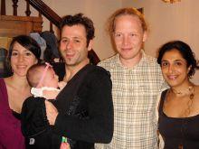 Dr. and Mrs. Yannick Benoit, Dr. Kristian Laursen