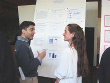 Dr. Samie Jaffrey and Christina Crump