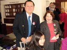 Hazel's husband Jimmy, Emily, & Dr. Arleen Rifkind