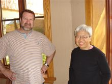 Drs. David Scheinberg and Hazel Szeto