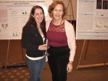 Christina Bonvicino and Dr. Lorraine Gudas