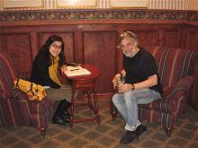 Julia Silveira and Dr. Steven Gross