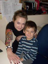 Halloween 2009 - Olga and Ethan