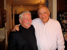 Drs. Donald Fischman and Charles Inturrisi