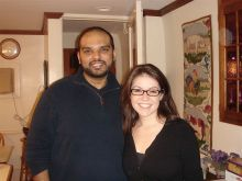 Vikram Kanda and Kerry Purtell
