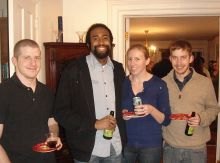 Jacob Bitterman, Jamie McBean, Courtney Alexander and Joel Schrock