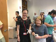 Jianjun from Dr. Gudas lab and Dr. Arleen Rifkind