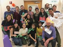 The Jaffrey Lab at the Halloween 2019 event