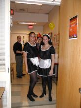 Halloween 2003 - French Maids