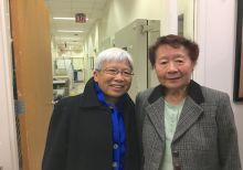 Dr. Szeto with colleague