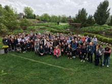 The Pharmacology Retreat attendees!