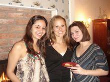 Naira Rezende, Megan Ricard and Iva Dincheva