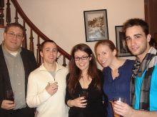 Dr. Lonny Levin, Michael Boice,Kerry Purtell, Courtney Alexander and Nick Veomett