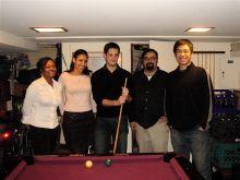 Nicole Ramsey, Ana Diaz, Dr. Martin Tresguerres, Eric Salazar, Jonathan Chen
