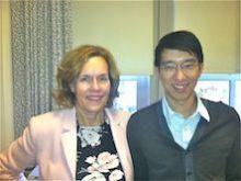 Dr. Chau and Dr. Gudas