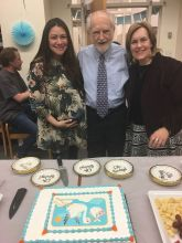 Aileen, Dr. Levi and Dr. Gudas