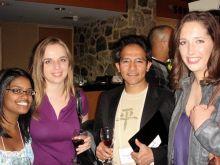 Tharu Fernando, Katerina Hatzi, Dr. Timothy Hla and Dr. Alison Urvalek