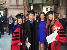 Danica, Dr. Li, Katja and Alissa