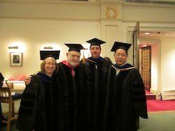 Drs. Diane Felsen, Roberto Levi, Anthony Sauve and Yueming Li