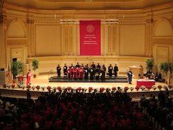 Graduation 2012- Carnegie Hall