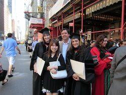 Dr. Eleanor Allen, Dr. Anthony Sauve, Dr. Jessica Falco, and Dou Youn