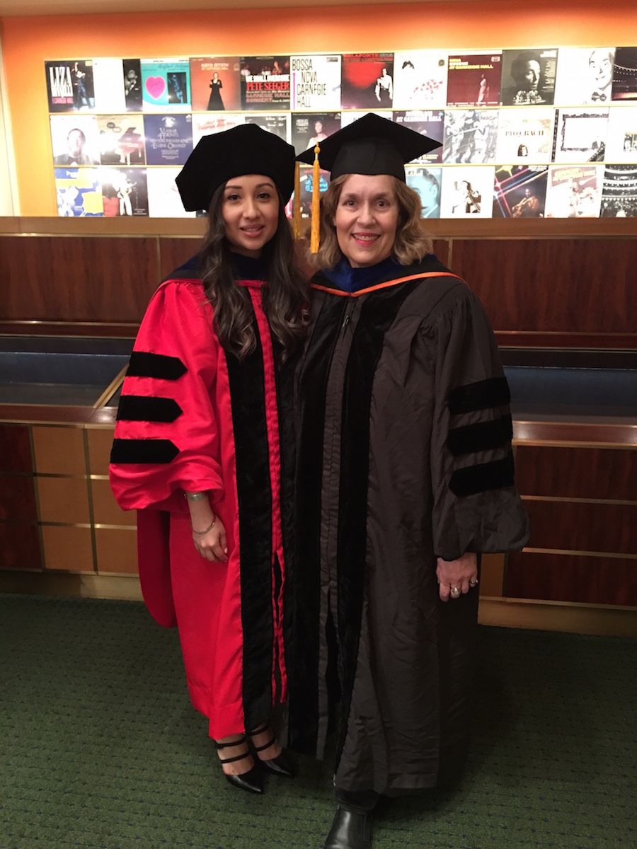 Cynthia and Dr. Gudas