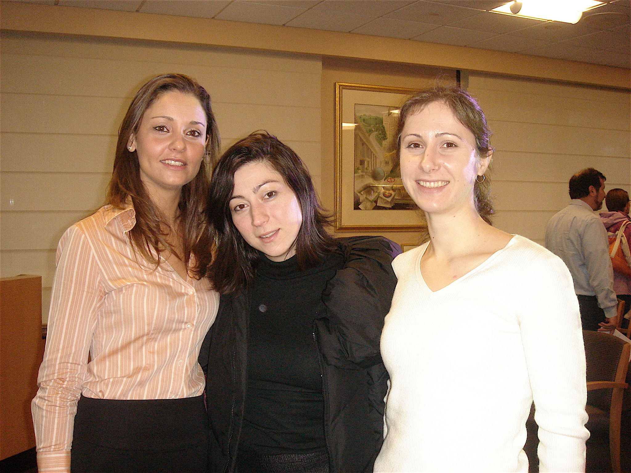Branka with graduate student friends.
