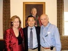 Attendees at an event for Geoffrey Ling, M.D.