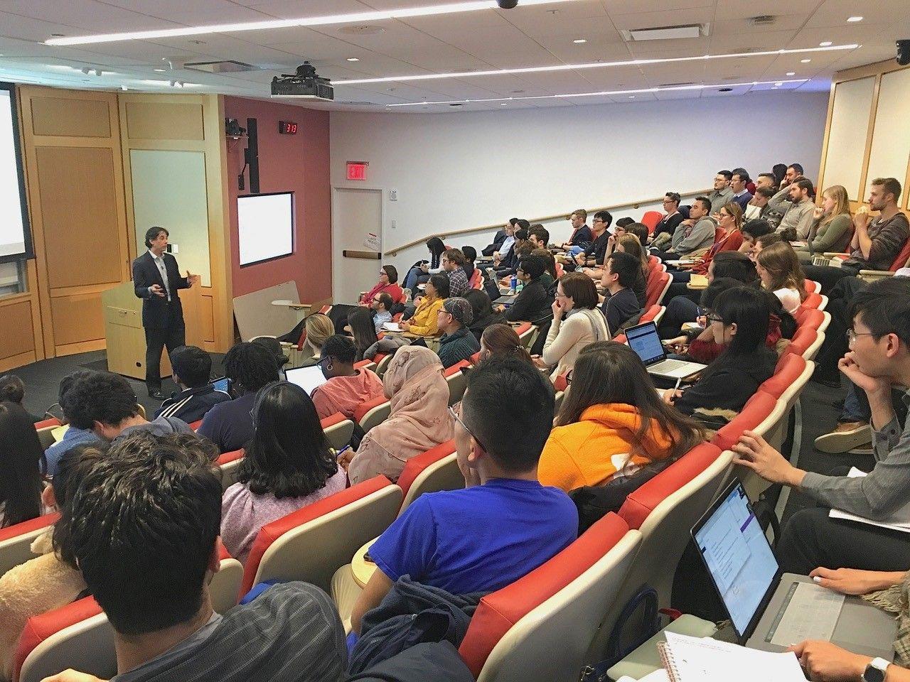 graduate school course, Pharmacology, New York City