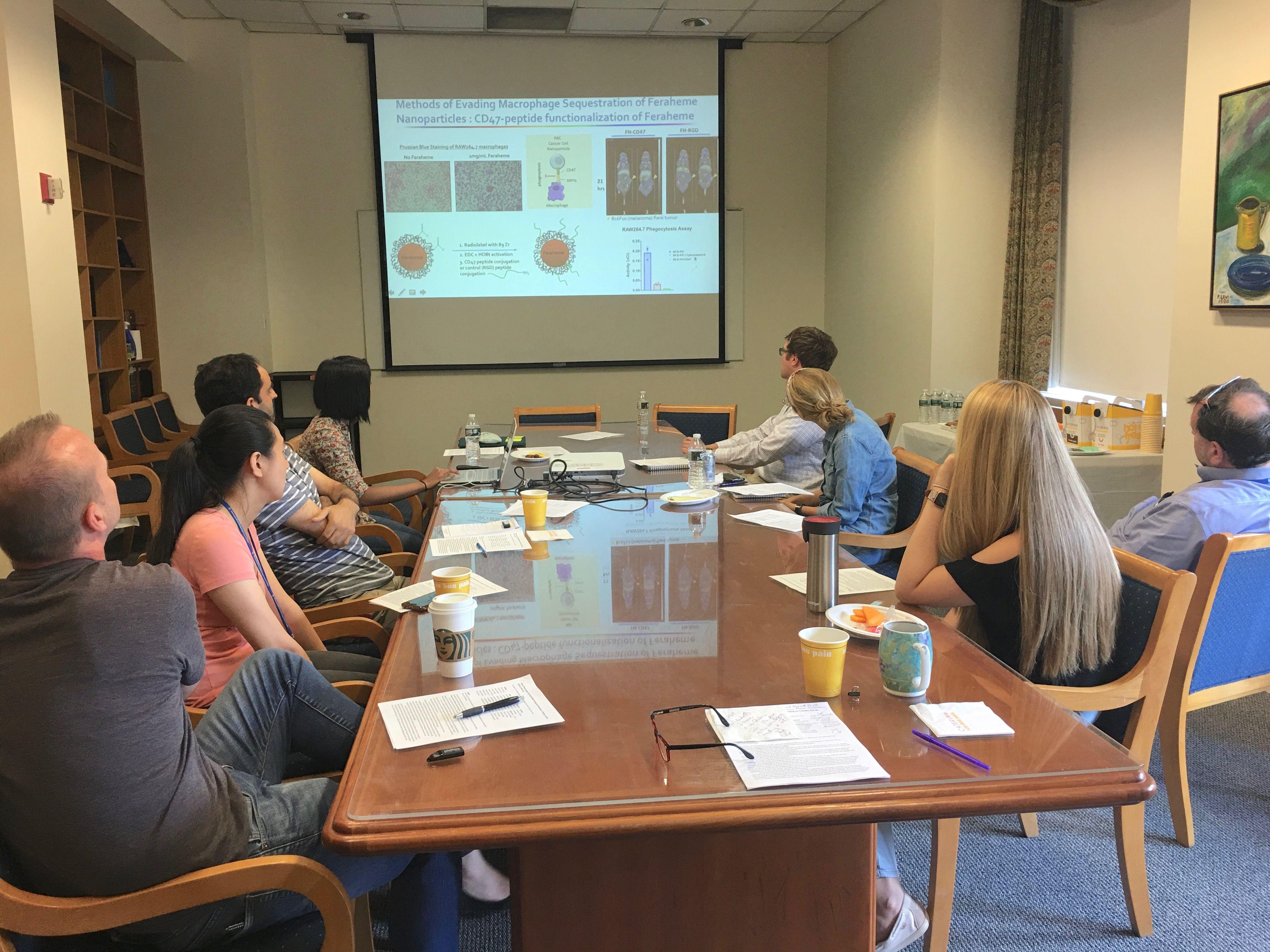 T32 Cancer Grant Meeting - Gudas & Scheinberg