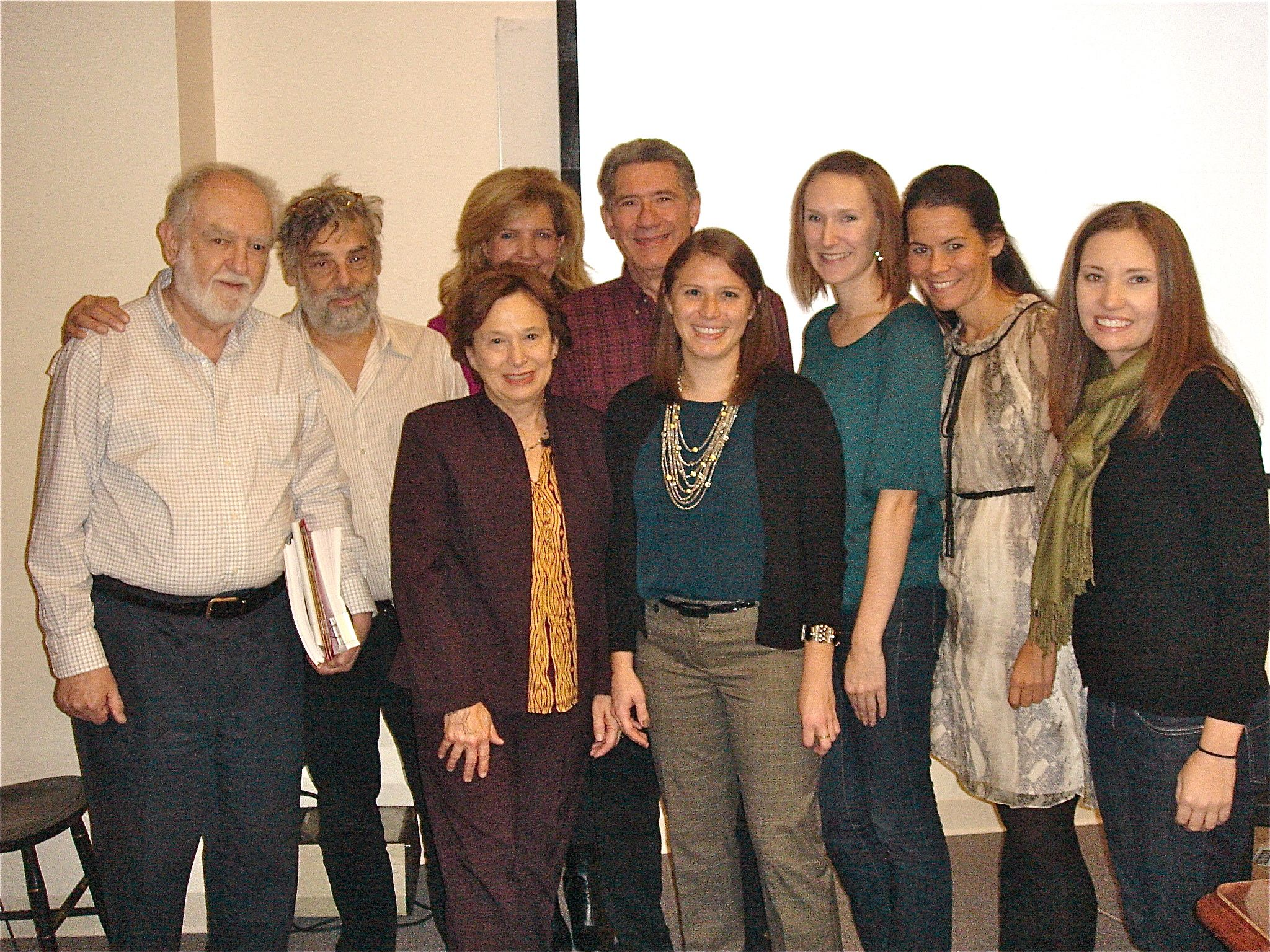 Group photo at Pam thesis defense.