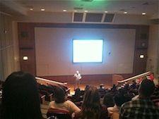 Auditorium conference