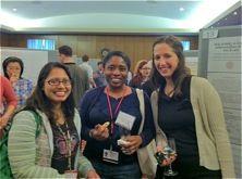 Three female researchers.