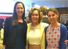 Drs. Alison Urvalek, Lorraine Gudas, and Gianina Panaghie