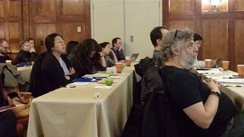Dr. Steven Gross (far right)