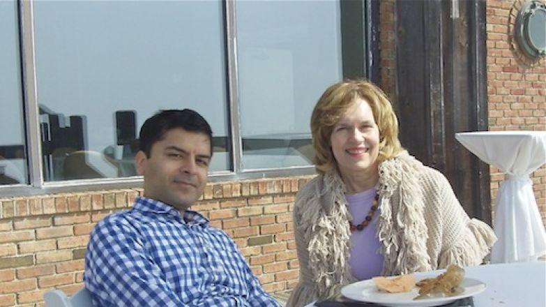 Dr. Samie Jaffrey and Dr. Lorraine Gudas