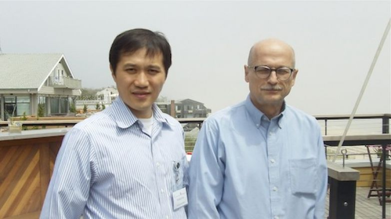 Dr. Minkui Luo and Dr. Miklos Toth