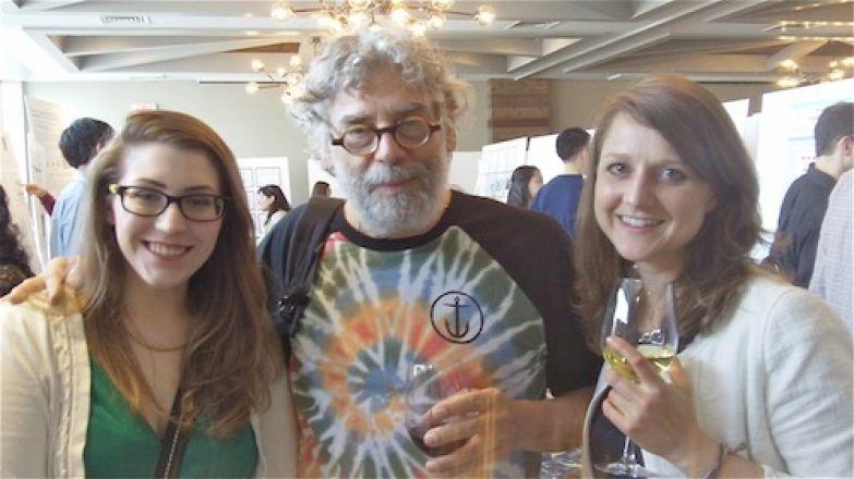 Emily Baut, Dr. Steven Gross, Miriam Sindelar