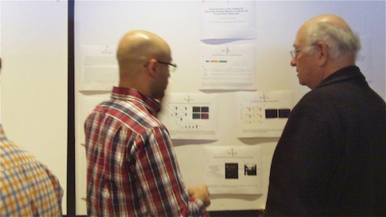 Jeet Mukherjee and Dr. Charles Inturrisi